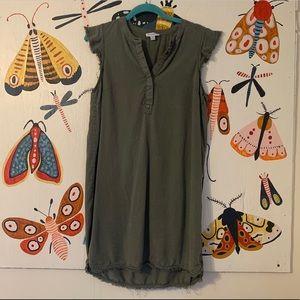 BOGO Carolina Belle Olive Green Dress